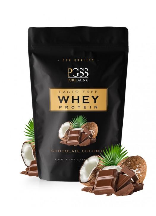 LACTO FREE 100% WHEY PROTEIN - Čokoláda Kokos