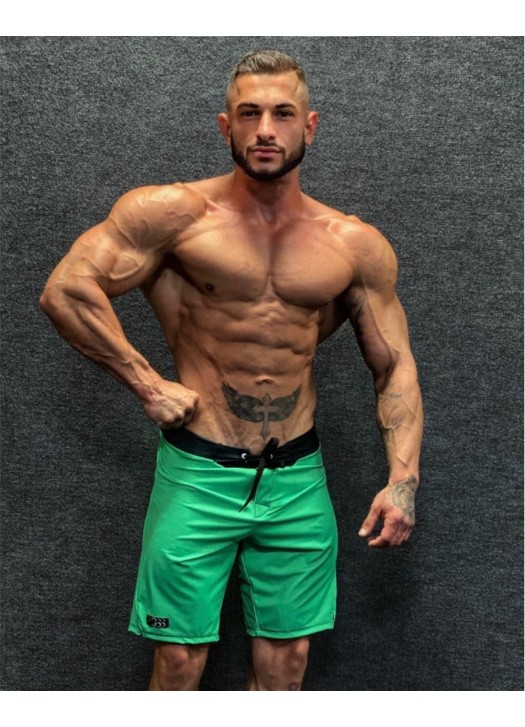 Men's Physique Shorts Green