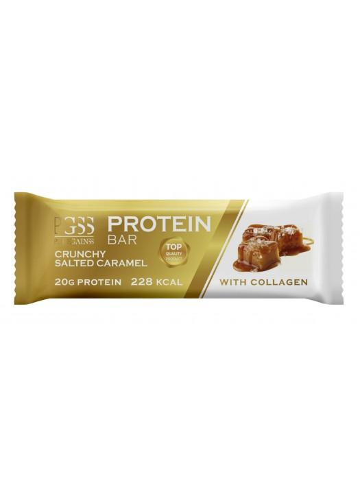 Proteínová tyčinka PGSS - Chrumkavý Slaný Karamel
