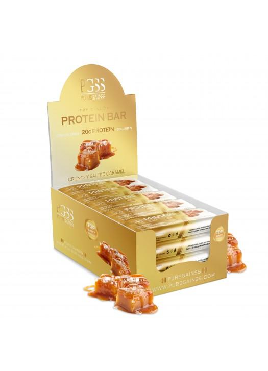Proteínové PGSS tyčinky - Chrumkavý Slaný Karamel (20ks)
